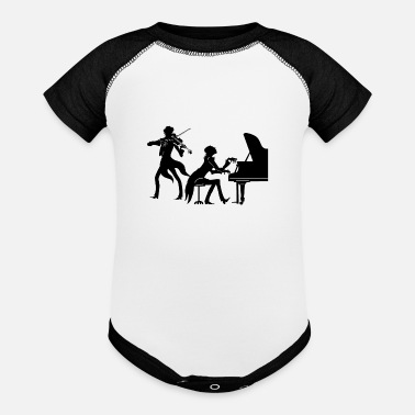 Classical Classical Music Ensemble - Baseball Baby Bodysuit