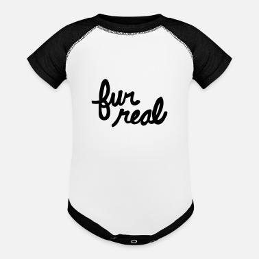 Fur fur real - Baseball Baby Bodysuit