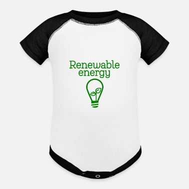 Renewable Energy renewable energy - Contrast Baby Bodysuit