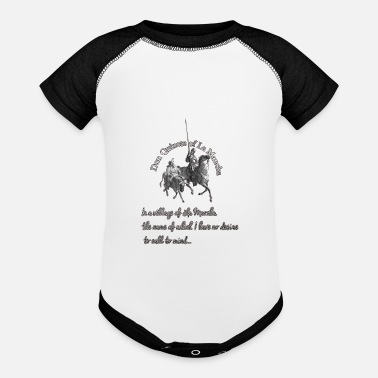 Don Quijote Don quijote Gustave Doré - Baseball Baby Bodysuit