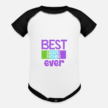 Best Grandfather Best Grandfather Ever - Gift - Shirt - Baseball Baby Bodysuit