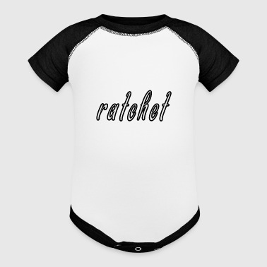 Ratchet ratchet design - Baby Contrast One Piece