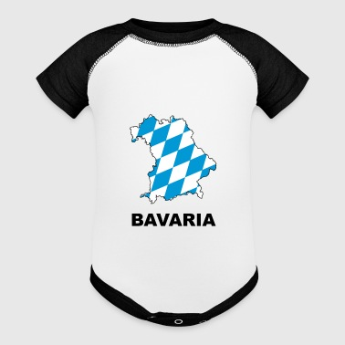Bavaria map - Baby Contrast One Piece