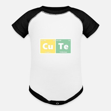 Periodic Table Of The Elements Cute Chemical Elements Periodic Table - Baseball Baby Bodysuit