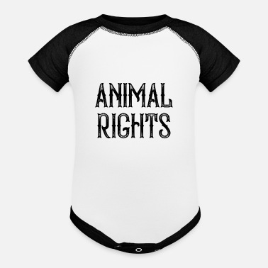 Animal Rights Animal Rights - Baseball Baby Bodysuit