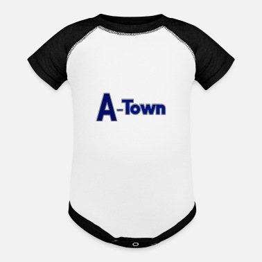 Town A-town or A Town shirts - Baseball Baby Bodysuit