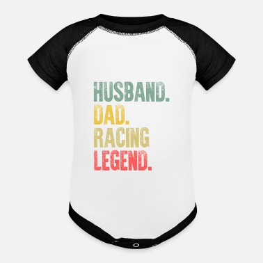 Clothes Funny Men Vintage T Shirt Husband Dad Racing - Baseball Baby Bodysuit