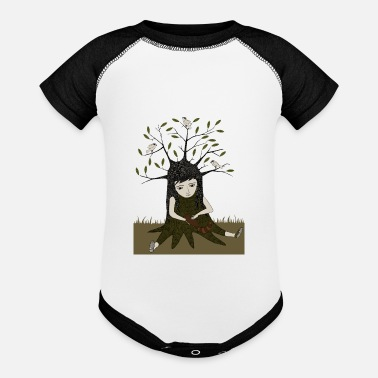 Nature with nature - Baseball Baby Bodysuit