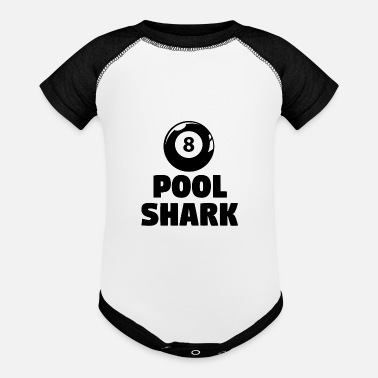 bde185fc62a4 Pool Shark Organic Short-Sleeved Baby Bodysuit