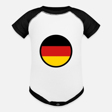 Under The Sign Of Germany - Baseball Baby Bodysuit