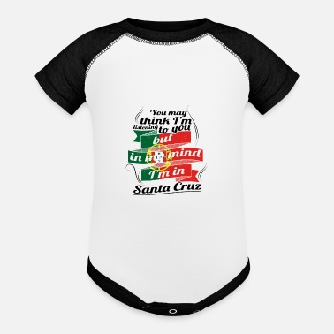 Cru URLAUB HOME ROOTS TRAVEL I M IN Portugal Santa Cru - Baseball Baby Bodysuit