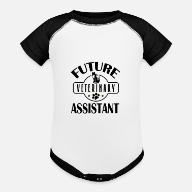 Veterinary Assistant Future Veterinary Assistant - Baseball Baby Bodysuit