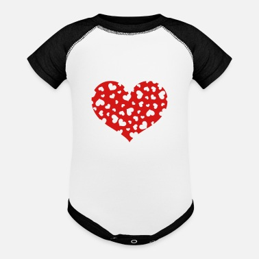 The Hundreds Hundreds Heart - Contrast Baby Bodysuit