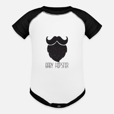 Hipster Baby Hipster - Contrast Baby Bodysuit