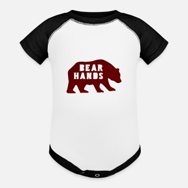 Bear Hands - Baseball Baby Bodysuit
