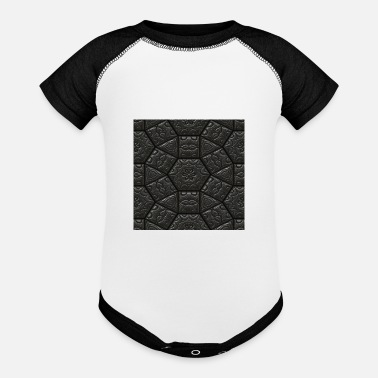 Abstract abstract - Baseball Baby Bodysuit