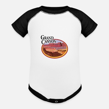 Grand Canyon Grand Canyon - Baseball Baby Bodysuit