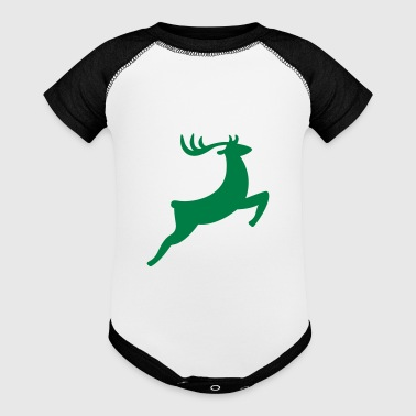 deer - Baby Contrast One Piece