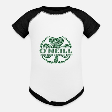 Surname irish family name surname o'neil - Baseball Baby Bodysuit