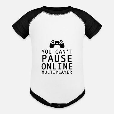 Multiplayer Gamer Online Multiplayer - Baseball Baby Bodysuit