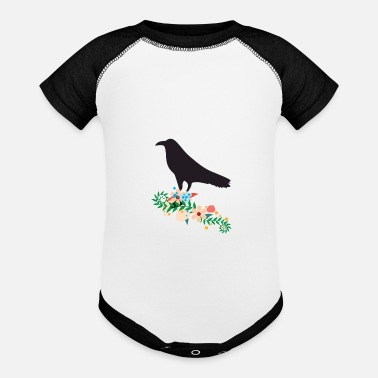 Blackbird Blackbird Crow Gift - Baseball Baby Bodysuit