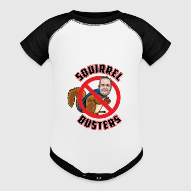 Squirrel Busters - Baby Contrast One Piece