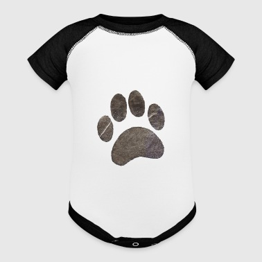 Paw - Baby Contrast One Piece