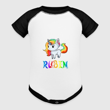 Rubin Rubin Unicorn - Baby Contrast One Piece