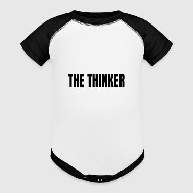 The thinker - Baby Contrast One Piece
