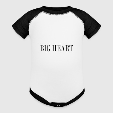 Big Heart - Baby Contrast One Piece