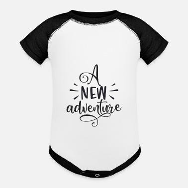 Rope A new adventure - Baseball Baby Bodysuit