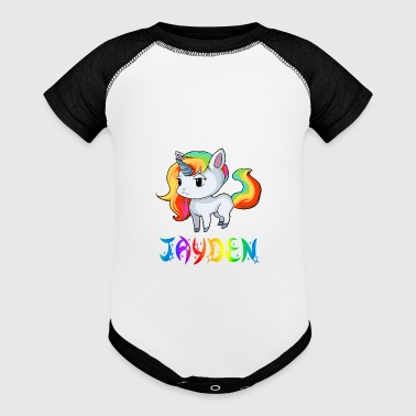 Jayden Unicorn - Baby Contrast One Piece