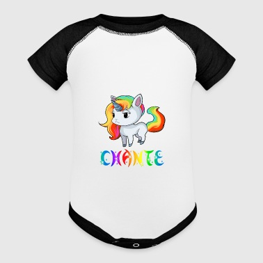 Chante Unicorn - Baby Contrast One Piece