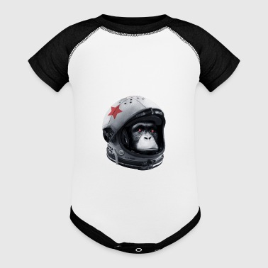 Astro Chimp - Baby Contrast One Piece