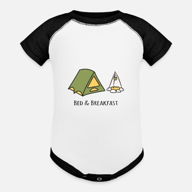 Bed And Breakfast Bed & Breakfast - Baseball Baby Bodysuit