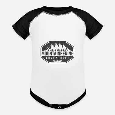 Advent mountaine advent - Baseball Baby Bodysuit