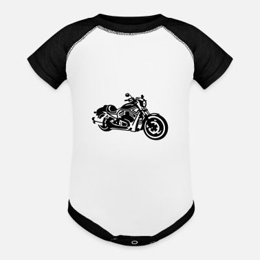 Chopper chopper - Baseball Baby Bodysuit