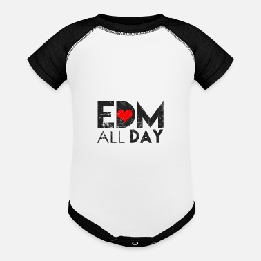 Techno Electronic Dance Music Techno Rave Shirt Gift - Baby Contrast One Piece