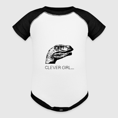 clever girl - Baby Contrast One Piece