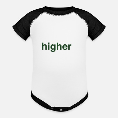 Higher State Of higher state of mind - Baseball Baby Bodysuit