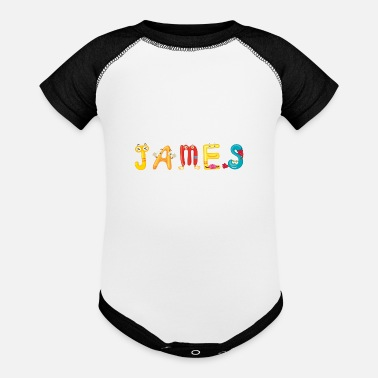 James James - Baseball Baby Bodysuit
