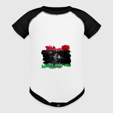 Libya Vintage Flag - Baby Contrast One Piece