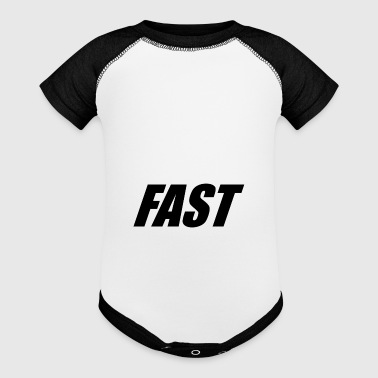 FAST - Baby Contrast One Piece