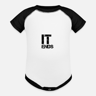 End it ends - Baseball Baby Bodysuit