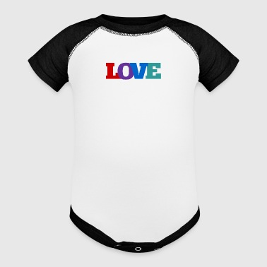 Love, Love, Love - Baby Contrast One Piece