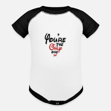 YOURE THE ONLY - Baseball Baby Bodysuit