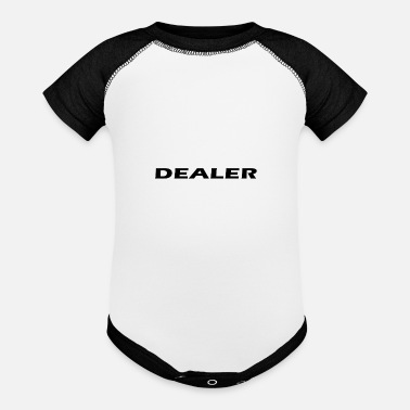 Dealer Dealer - Baseball Baby Bodysuit