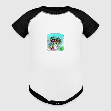 emojie shirt - Baby Contrast One Piece