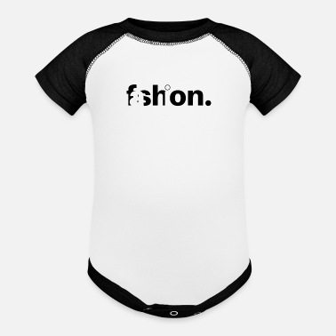 Fashion Fashion - Baseball Baby Bodysuit