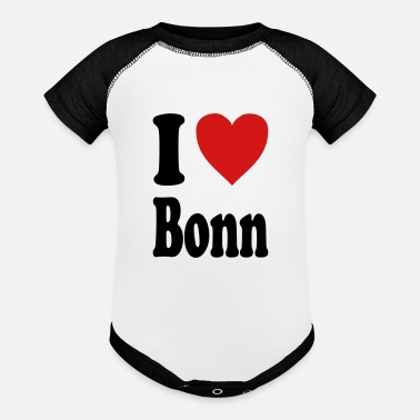 Rheinland I love Bonn (variable colors!) - Contrast Baby Bodysuit